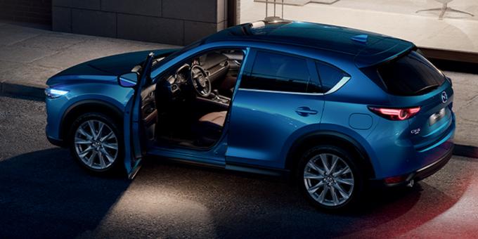 Весомые преимущества на Mazda CX-5